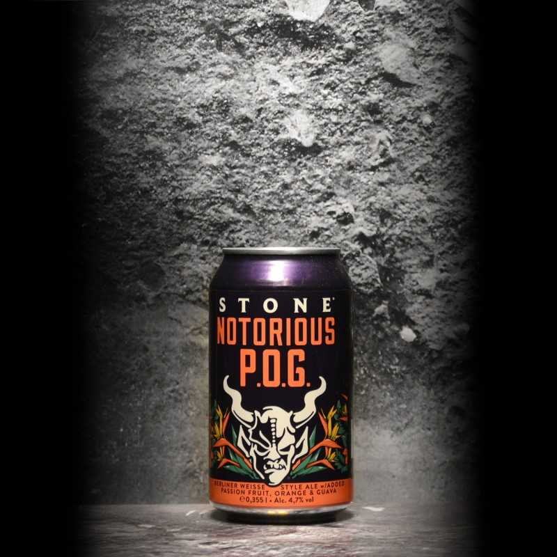 Stone - Notorious P.O.G. - 4.7% - 333 - Can