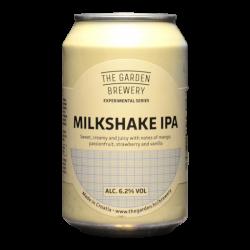The Garden Brewery - Milkshake IPA - 6.2% - 33cl - Can