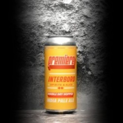 Interboro - Double Dry Hopped Premiere IPA - 6% - 47.3cl - Can