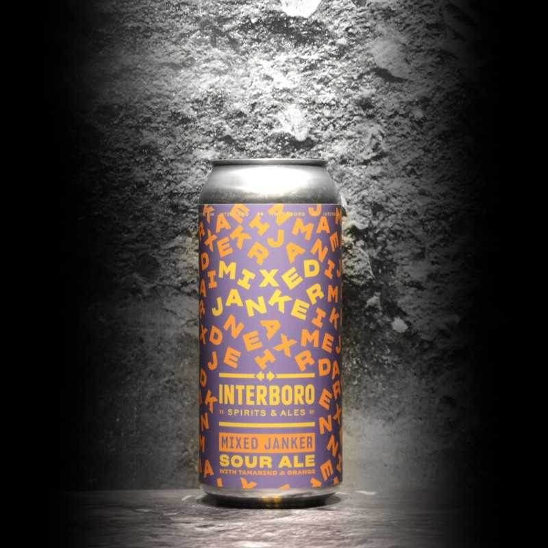 Interboro - Mixed Janker - 8.5% - 47.3cl - Can