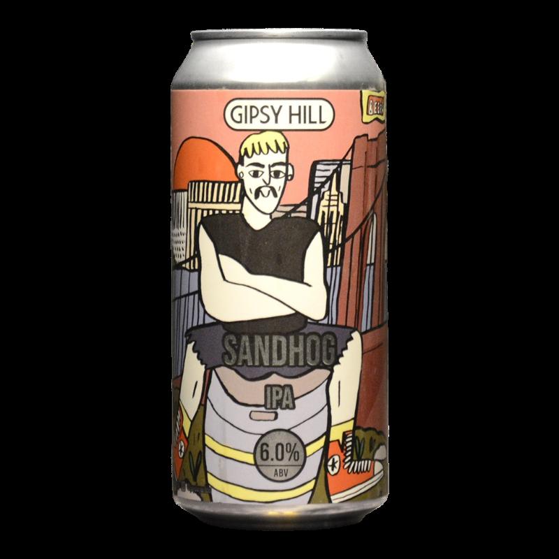 Gipsy Hill - Sandhog - 6% - 44cl - Can