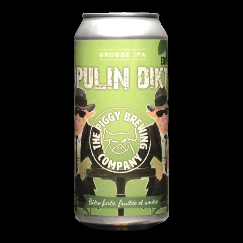 The Piggy Brewing - Lupulin Diktat Edition 2020 - 8% - 44cl - Can