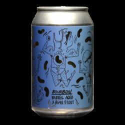 Lervig - Way Beer - 3 Bean Stout Bourbon BA 2020 - 12% - 33cl - Can