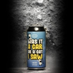 S43 - Was It A Car Or A Cat That I Saw – Palindrom Series - 6.7% - 47.3cl - Can