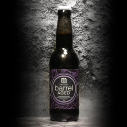 Maryensztadt - Barrel Aged Projekt: Imperial Baltic Porter Kentucky Bourbon 2019 BA - 10.7 - 33cl - Bte