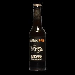 BadFish – SB48 – Belgian Amber Ale - 6.5% - 33cl - Bte