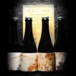 Malpolon - La Montagnarde – Cyclic Beer Farm - Yeast Trio – Pack 4x37.5cl - 5.6% - 37.5cl - Bte