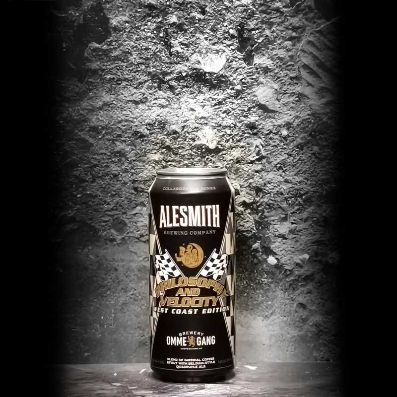 AleSmith - Ommegang - Philosophy and Velocity - 11.5% - 47.3cl - Can
