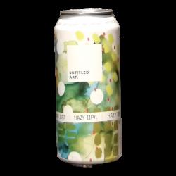 Untitled Arts - Hazy IIPA - 8% - 47.3cl - Can