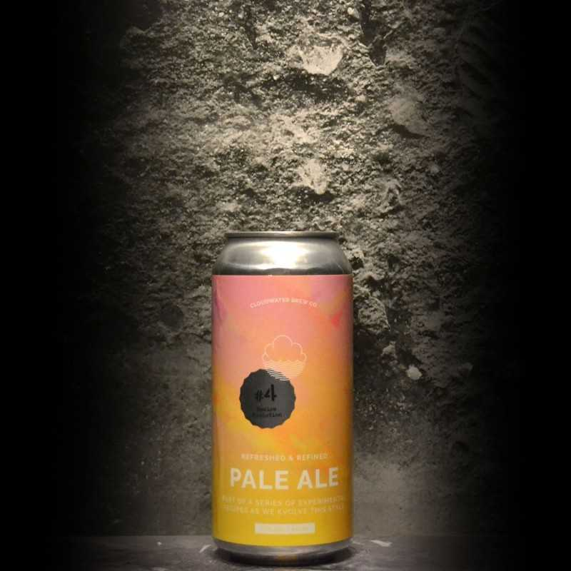 Cloudwater - Pale Ale Recipe Evolution 4 - 3.7% - 44cl - Can