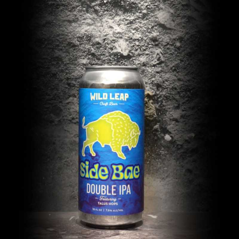 Wild Leap - Side Bae Talus Hops DIPA - 8% - 47.3cl - Can
