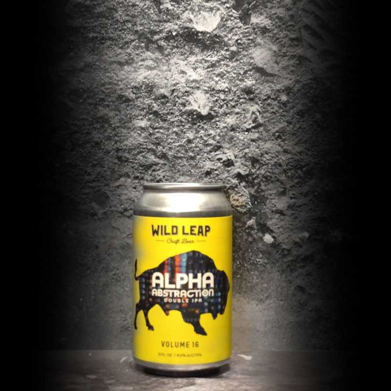 Wild Leap - Alpha Abstraction Vol. 16 - 8% - 35.5cl - Can