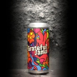Brix City - Grateful Jams - 8% - 47.3cl - Can