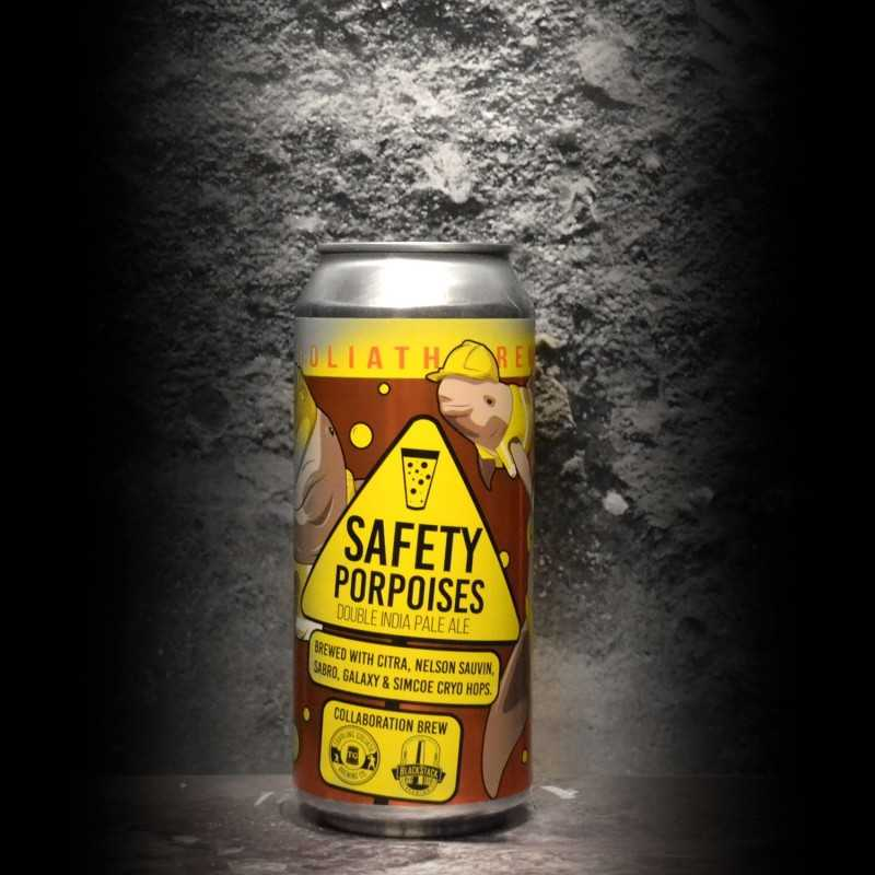 Toppling Goliath - BlackStack - Safety Porpoises - 7.9% - 47.3cl - Can