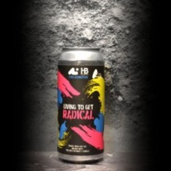 Aslin - Heist - Living To Get Radical - 9.3% - 47.3cl - Can