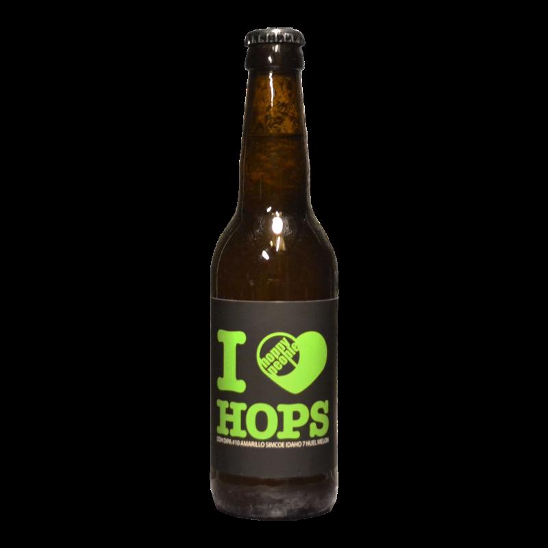 Hoppy People - I Love Hops 10 - 8% - 33cl - Bte