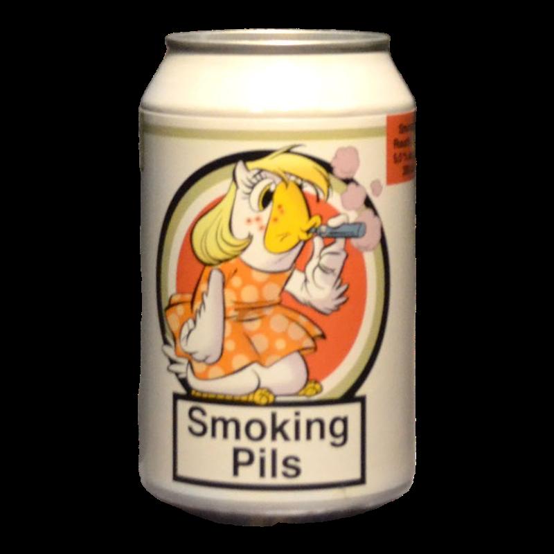 Het Uiltje - Smoking Pils - 5.5% - 33cl - Can