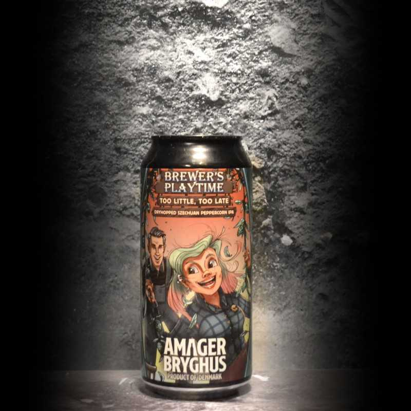Amager - Too Little, Too Late - 6% - 44cl - Can