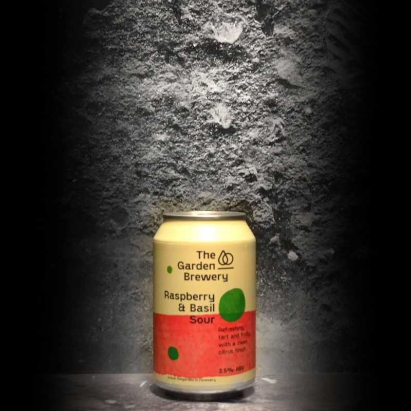 The Garden Brewery - Raspberry & Basil Sour - 3.5% - 33cl - Can