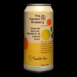 The Garden Brewery - Freddo Fox - Apricot Lemon Mandarin Imp Sour - 6.4% - 44cl - Can