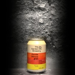 The Garden Brewery - Florida Weisse 5 - 3.5% - 33cl - Can