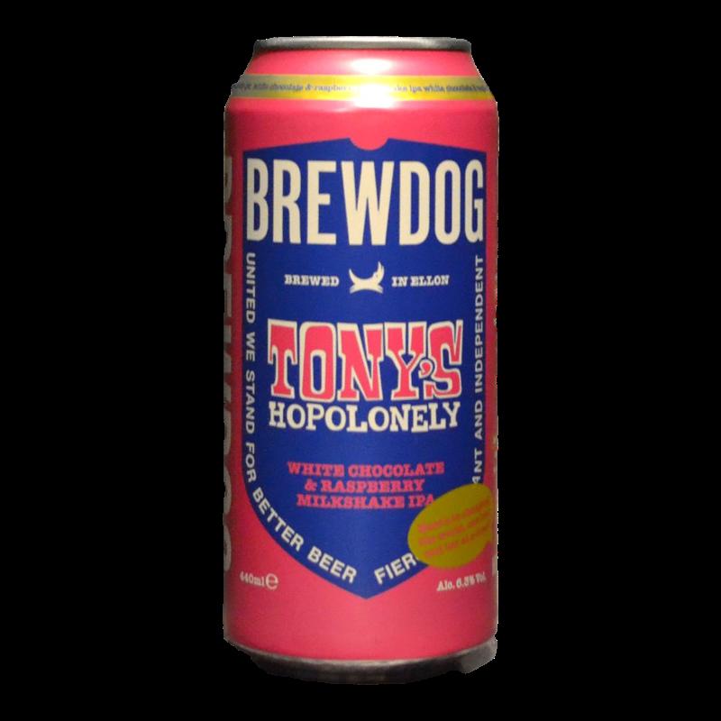 BrewDog - Tony's Hopolonely - 6.3% - 44cl - Can
