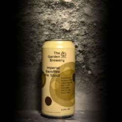 The Garden Brewery - Imperial Banoffee Pie Stout - 8.3% - 44cl - Can