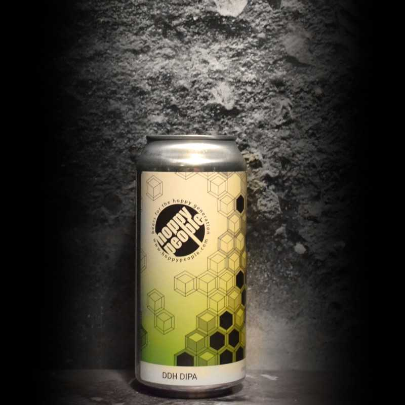 Hoppy People - DDH 5th Anniversary DIPA - 8% - 44cl - Can