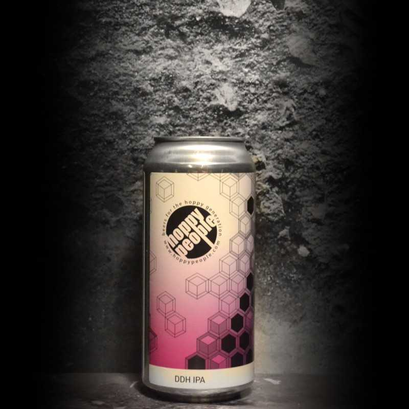 Hoppy People - DDH 5th Anniversary IPA - 6.8% - 44cl - Can