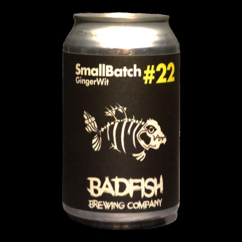 BadFish - SB22 – GingerWit - 4.6% - 33cl - Can