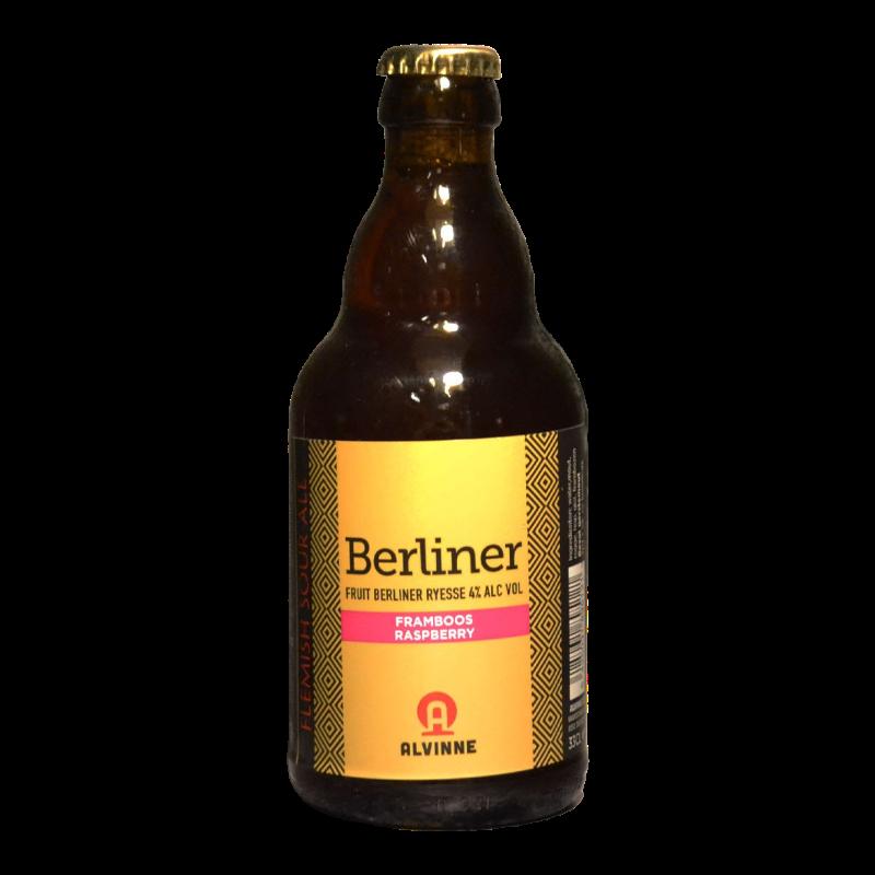 Alvinne - Laugar - Berliner Framboos - 4% - 33cl - Bte