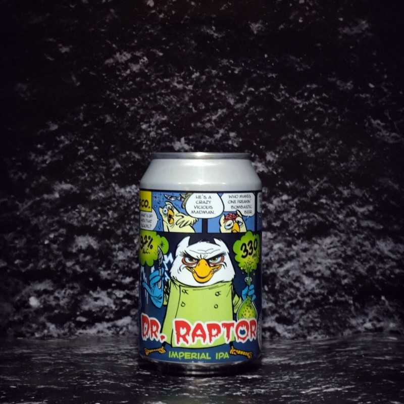 Het Uiltje - Dr. Raptor - 9.2% - 33cl - Can